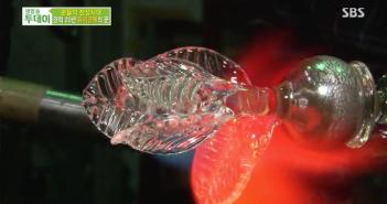 SBS 생방송 투데이 – 경력 20년 유리공예꾼의 마법 같은 와인잔 공예!