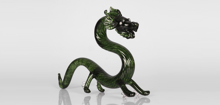 [Blowing] Glass Dragon